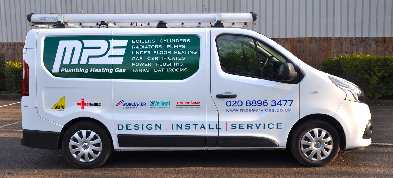 MPE Services Plumbing Heating Gas Engineers - Van Fleet 3