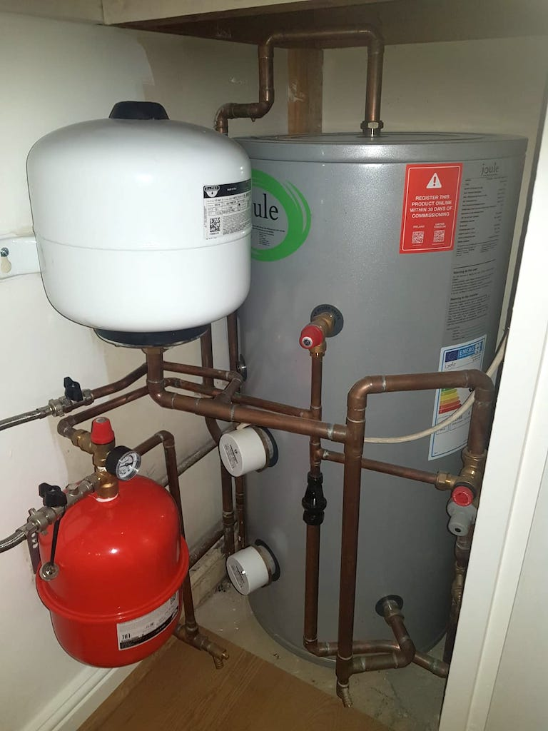 MPE Plumbing Heating GAS - W4 Hot Water Cylinder