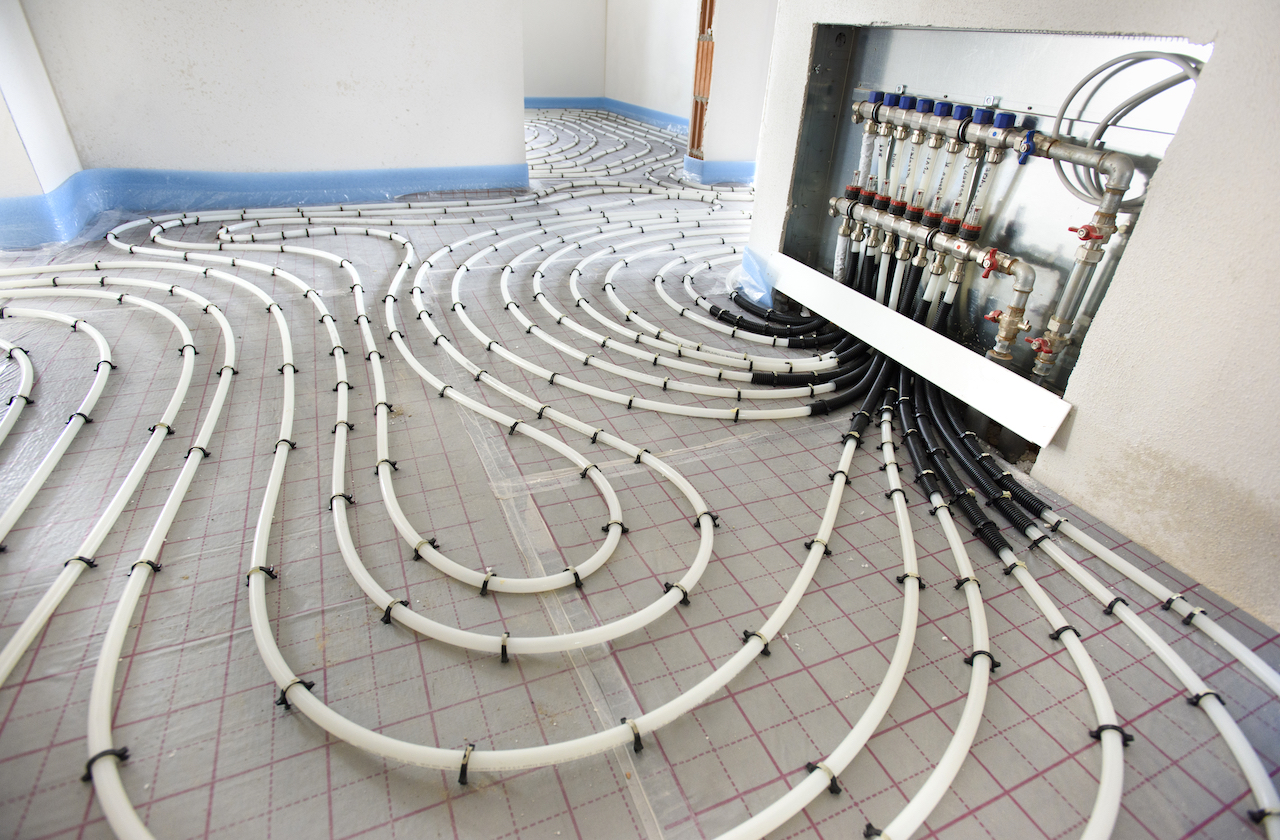 MPE Plumbing Heating Gas - Under Floor Heating Installation